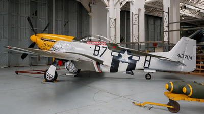 G-BTCD - North American P-51D Mustang - Old Flying Machine Company