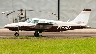 PT-JQJ - Embraer EMB-810 Seneca - Aeroclube de São José dos Campos