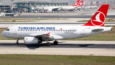 TC-JUA - Airbus A319-132 - Turkish Airlines