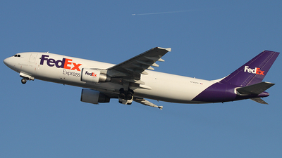 A picture of N745FD - Airbus A300B4622R(F) - FedEx - © Joe Osciak