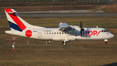 F-GPYB - ATR 42-500 - HOP! for Air France