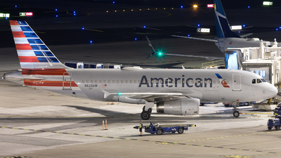N823AW - Airbus A319-132 - American Airlines