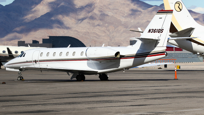N361QS - Cessna 680 Citation Sovereign - NetJets Aviation