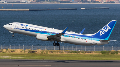 A picture of JA70AN - Boeing 737881 - All Nippon Airways - © walker2000