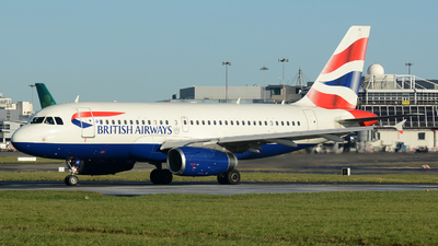 G-DBCE - Airbus A319-131 - British Airways