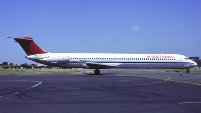 N313RC - McDonnell Douglas MD-82 - Northwest Airlines