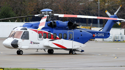 A picture of GCHYG - Sikorsky S92A Helibus - Bristow Helicopters - © Rrimestad