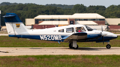 A picture of N520MS - Piper PA44180 Seminole - [4496230] - © Alex Crail