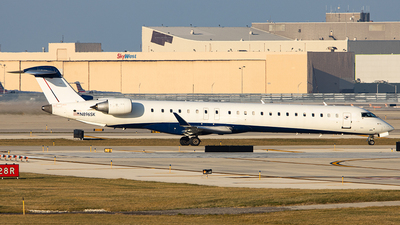 A picture of N896SK - Mitsubishi CRJ900LR - SkyWest Airlines - © Sean Brink