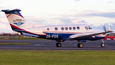 ZK-FDS - Beechcraft B200C Super King Air - Garden City Helicopters