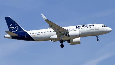 A picture of DAINQ - Airbus A320271N - Lufthansa - © Christopher Sho Schmitt