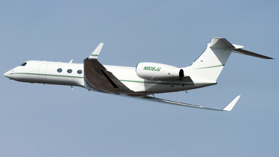N808JG - Gulfstream G-V - Private