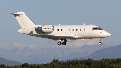 P4-CEO - Bombardier CL-600-2B16 Challenger 605 - Private