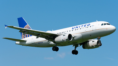 N893UA - Airbus A319-132 - United Airlines