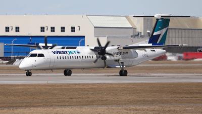 C-FENU - Bombardier Dash 8-Q402 - WestJet Encore