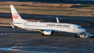 JA334J - Boeing 737-846 - Japan Airlines (JAL)
