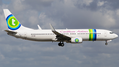 9Y-TJR - Boeing 737-8K2 - Caribbean Airlines