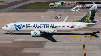 F-ONGA - Boeing 737-89M - Air Austral