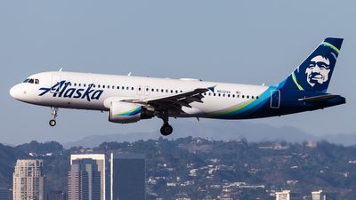 A picture of N632VA - Airbus A320214 - Alaska Airlines - © Brandon Giacomin
