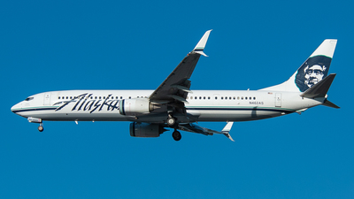 N462AS - Boeing 737-990ER - Alaska Airlines