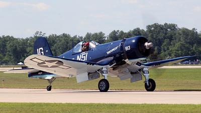 N83JC - Goodyear FG-1D Corsair - Private