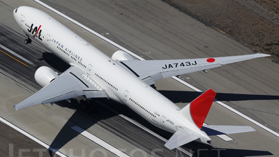 JA743J - Boeing 777-346ER - Japan Airlines (JAL)
