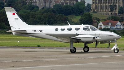 HB-LWE - Cessna 340A - Private