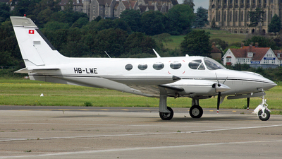 A picture of HBLWE - Cessna 340A - [340A1245] - © Hawkwind