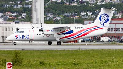 LN-FVA - Bombardier Dash 8-103 - FlyViking