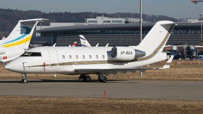 VP-BOA - Bombardier CL-600-2B16 Challenger 601-3A - Private