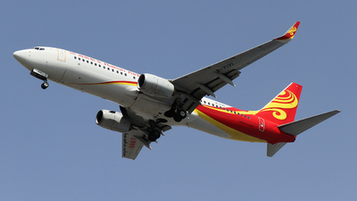 A picture of B7171 - Boeing 73786N - Hainan Airlines - © ceci wong