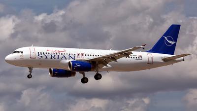 YK-AKF - Airbus A320-232 - Syrianair - Syrian Arab Airlines