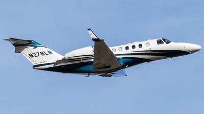 A picture of N278LN - Cessna 525A CitationJet CJ2+ - [525A0338] - © Alex Crail