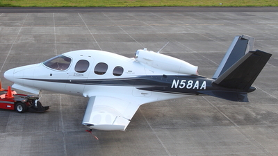 N58AA - Cirrus Vision SF50 G2 - Private