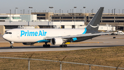 N1093A - Boeing 767-36N(ER)(BDSF) - Amazon Prime Air (Atlas Air)