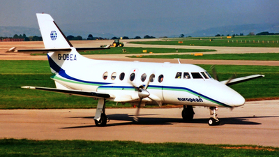 G-OBEA - British Aerospace Jetstream 31 - European Airways