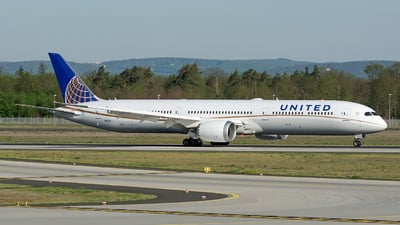 N16008 - Boeing 787-10 Dreamliner - United Airlines