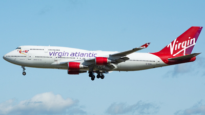 G-VGAL - Boeing 747-443 - Virgin Atlantic Airways