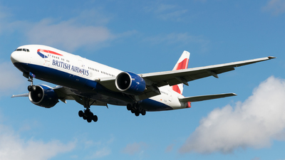 G-VIIS - Boeing 777-236(ER) - British Airways