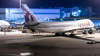 A7-BGB - Boeing 747-83QF - Qatar Airways Cargo