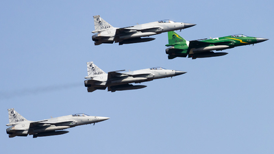 17-243 - Chengdu JF-17 Thunder - Pakistan - Air Force