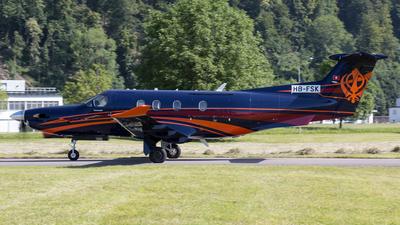 HB-FSK - Pilatus PC-12/47E - Private
