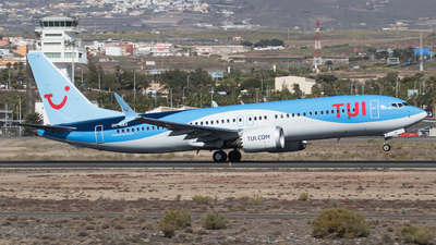A picture of OOMAX - Boeing 737 MAX 8 - TUI fly - © RAFAL KUKOWSKI