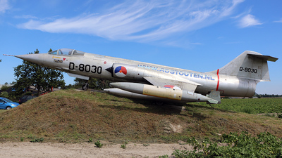 D-8030 - Lockheed F-104G Starfighter - Netherlands - Royal Air Force