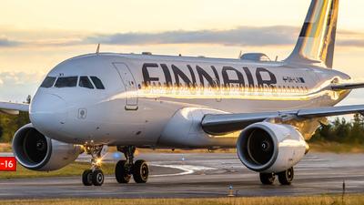 A picture of OHLVI - Airbus A319112 - Finnair - © Oskari Tanninen