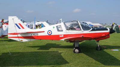 G-BZXZ - Scottish Aviation Bulldog T.1 - Private