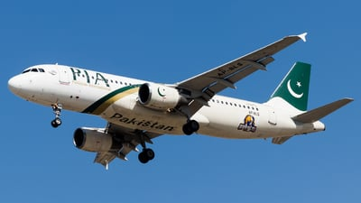 A picture of APBLS - Airbus A320214 - Pakistan International Airlines - © Faraz Ali