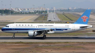 B-6283 - Airbus A320-214 - China Southern Airlines