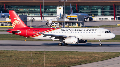 A picture of B6720 - Airbus A320232 - Shenzhen Airlines - © Sebastian Shen