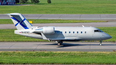 RA-67167 - Bombardier CL-600-2B16 Challenger 604 - Private
